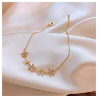 Flower bangle【R0083】