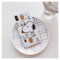 Snoopy イラスト ♡スマホケース【A0106】