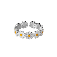 Daisy crown ring【R0092】