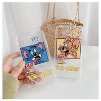 おちゃめなTom&Jerryスマホケース ♡【A0019】