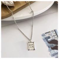 Retro silver necklace【R0059】