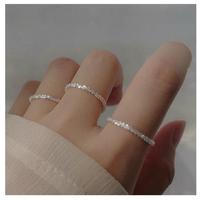 silver torsion ring 【R0128】