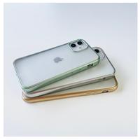 Simple metallic out line case【C0187】