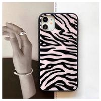 Zebra pattern ♡スマホケース【 E0161】