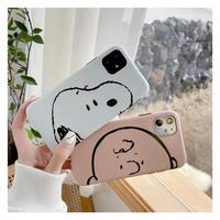 Snoopy&Charlie♡スマホケース【A0066】
