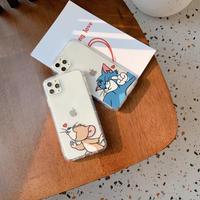 Cute Tom&Jerry♡スマホケース【A0039】