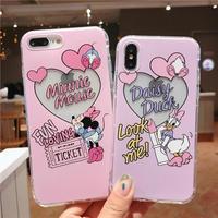 Cute Minnie Daisyスマホケース♡【A0007】