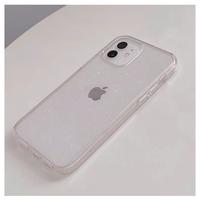 Powder clear iPhone case【C0149】