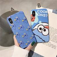 cookie monster♡スマホケース【A0037】