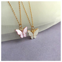 Butterfly necklace【R0033】