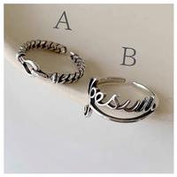 Retro silver ring 【R0136】