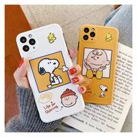 cute Snoopy&Charlieスマホケース♡【A0054】