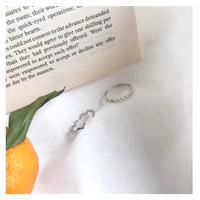 silver ring セット【R0017】