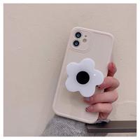 White flower case【E0169】
