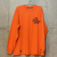 Walking long sleeve Tee orange