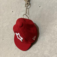 MOBSTAR × NEW ERA KEYHOLDER RED
