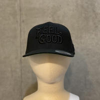 FEEL GOOD cap BLACK×BLACK