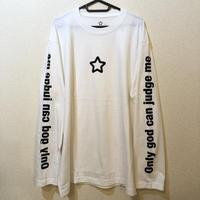 MOBSTAR ロングスリーブTシャツ white