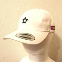 mobstar cap vintage style star white