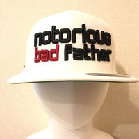bad father snapback white