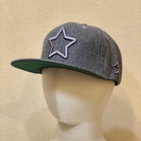 ALL GREY WOOL CAP