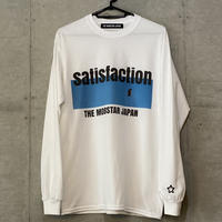 satisfaction ロンT white