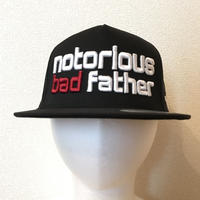 bad father mesh cap black