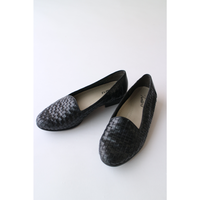 "MeshLeather Shoes ""Black"" [898C]"