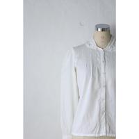 80's CottonGauze Blouse [386C]