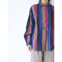80's Stripe Design Shirt