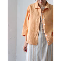 Linen 3/4 sleeve shirt
