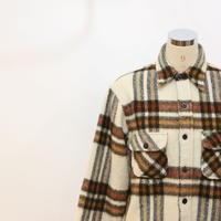 60's C.P.O ウールシャツジャケット [487B]