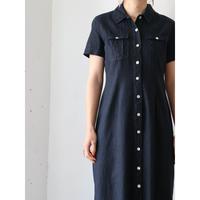 90's Linen long dress