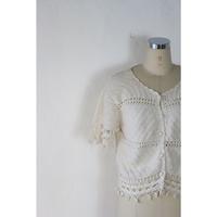 Crochet Fringe Cardigan [637C5]