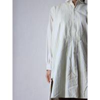 Antique cotton Patchwork shirt onepiece