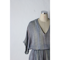 Multi color yarn Dress [940C]