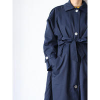 80's~ Twill Coat with Liner