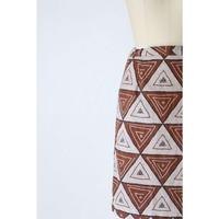 AfricanBatik Skirt [039C]