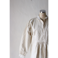 Antique Linen Long Dress [530C]