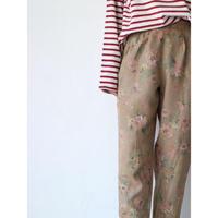 FlowerPattern LinenPants [No.30167]