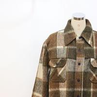 80's C.P.O ウールシャツジャケット [483B1]