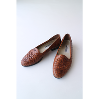 "MeshLeather Shoes ""Brown"" [898C1]"