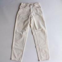 90's Levi's550 ホワイトデニムパンツ [998C1]