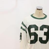60's~ CHAMPIONダメージフットボールtee[313a]