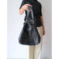 Drawstring Leatherbag [No.70126]