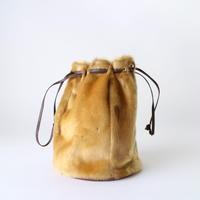 ハラコ巾着バッグ [837]