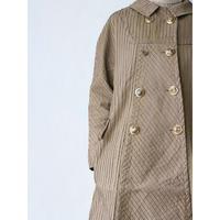 Euro vintage pin tuck coat