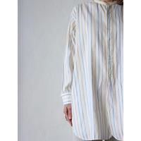 40's Stripe long dress shirt