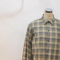 ネルチェックロングシャツ [620C]