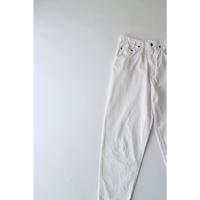 Twill White Pants [020C]